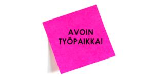 Uusi työpaikka: Kokki Raumalle