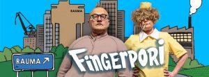 Fingerpori Rauman teatterissa 5.9. alkaen