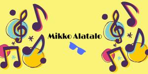 Mikko Alatalo laulattaa Porin Klubin kesäterassilla 8.8.