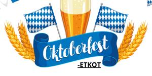 Oktoberfest-ETKOT Klubin Tallissa ja terassilla LA 22.8. klo 18